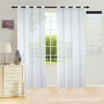 New Style Beautiful Fashion Embroidery Curtain