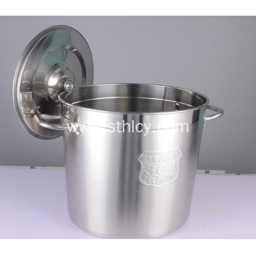 Stainless Steel Food Soup Barrel Level Rice Barrel
