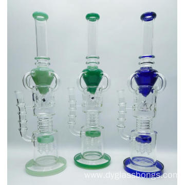 Newest Royal Style Crystal Glass Smoking Hookahs