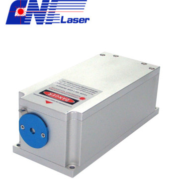 588nm narrow line width laser with low noise