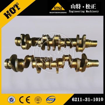 komatsu crankshaft ass'y 6211-31-1010 for S6D140-1