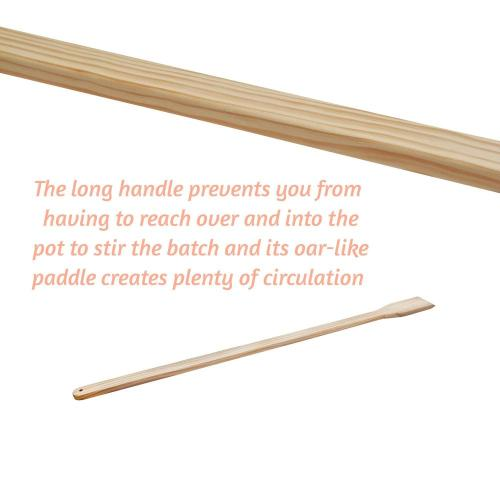 Wooden Long Stirring Paddles Set
