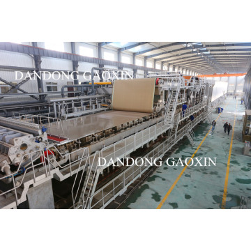 Three Layer Test Liner Paper Machine