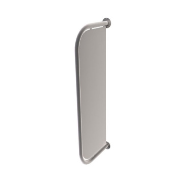 Wall mount urinal partition screen