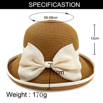 Fashion golf sport cap bucket straw hat