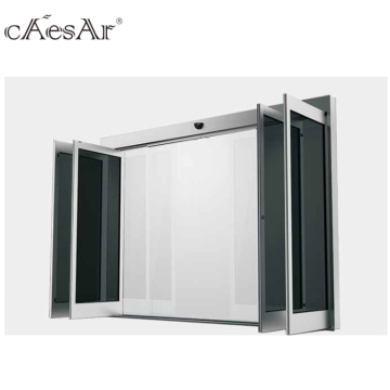 Electric glass automatic breakout sliding door