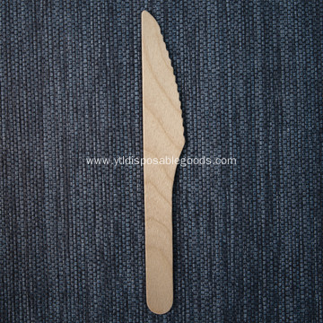 Birch wood knife Cutlery
