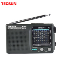 TECSUN R-909 fm/mw/sw 9 bands World Band Receiver Radio Ultra-thin Portable Radio fm antenna radio