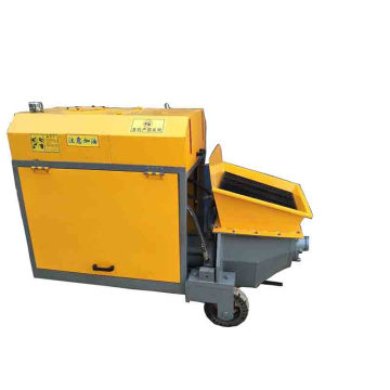 Used mini portable concrete mixer pump
