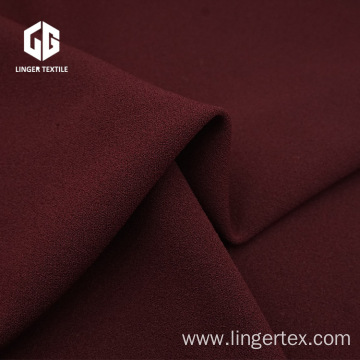 Twisted 100D Polyester Spandex Knit Crepe Fabric