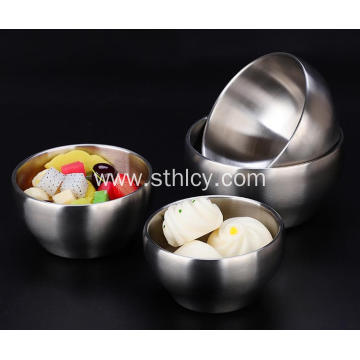 304 Stainless Steel Bowl Thickened And Deepened