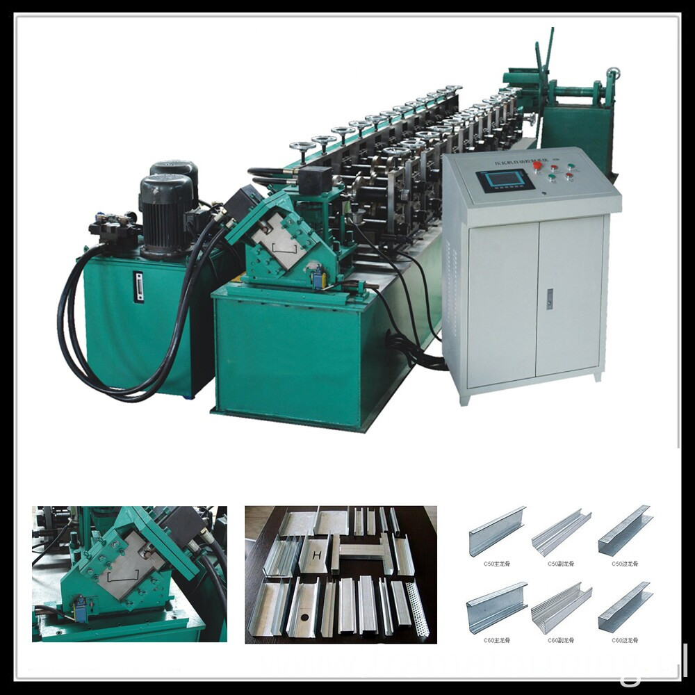 Steel Double Furring Channel Machine Metal C Channel Machine