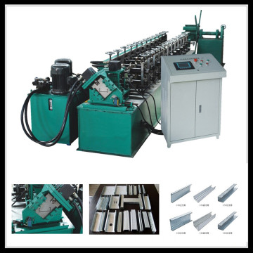High quality stud & track roll forming machine profile