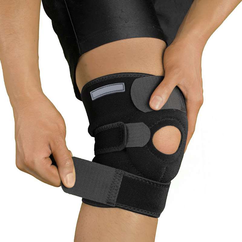 Heat knee support