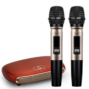 Handheld Wireless Karaoke Microphone Karaoke player Home Karaoke Echo Mixer System Digital Sound Audio Mixer Singing Machine K12