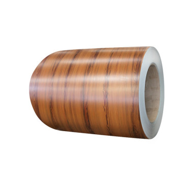 Wood grain design ppgi