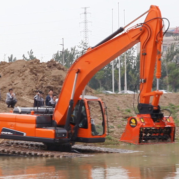 Miniature Amphibious Excavator For Sales