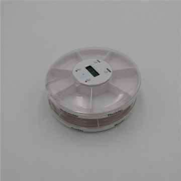 electrical pill case with alarm reminder