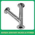 Sanitary Lateral Tees Tri Clamped
