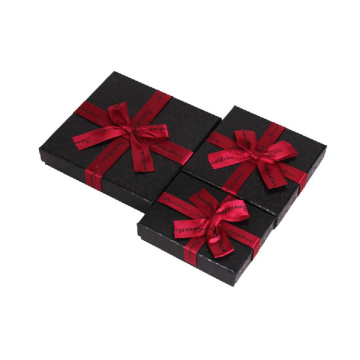 Small Matte Black Paper Gift Box