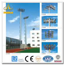 Polygonal Powder Coating High Mast Poles