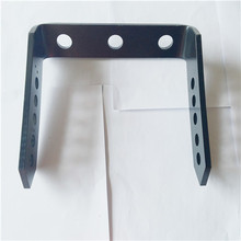 Customized steel forming LED bracket with e-coating