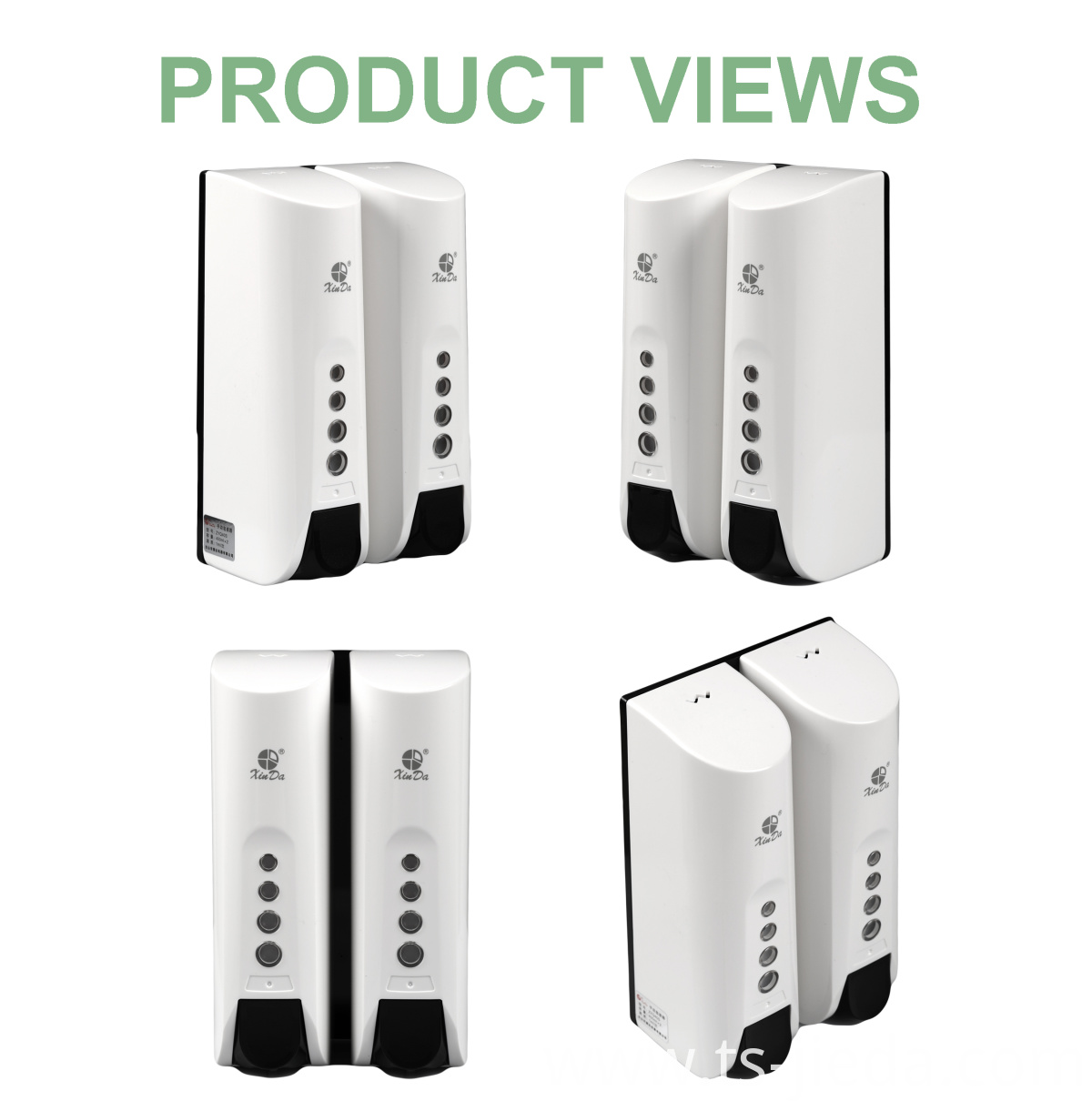 Novel design Soap dispenser suitable for decoration