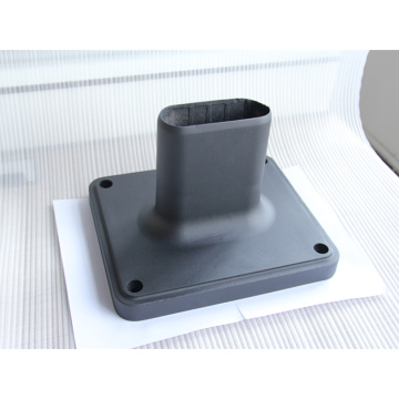 Sand casting base aluminum support with powder coating