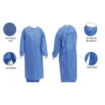 The Blue Surgical Gown