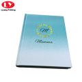 Hardcover notebook with custom logo