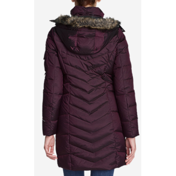 Women parka with Fake Fur