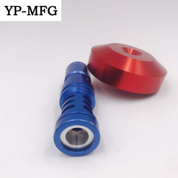 aluminum 7075 anodized cnc turned precise motor parts