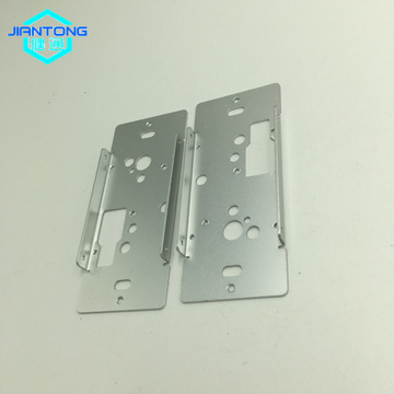 factory supply aluminum laser cutting and bending brackets