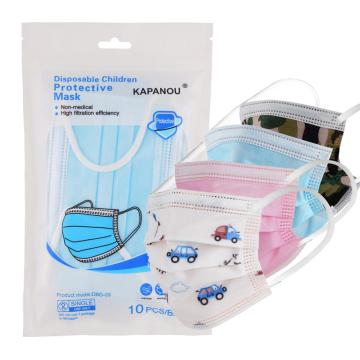 3 Ply Disposable Child Mask FDA GB/T38880-2020