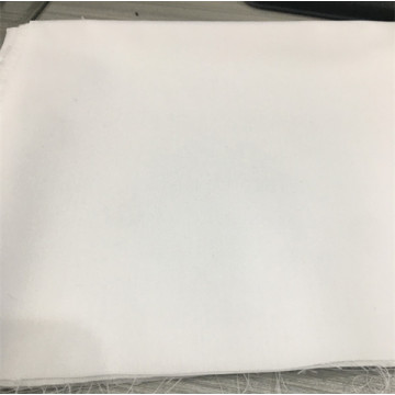 Popular Soft Polyester White TC Fabric