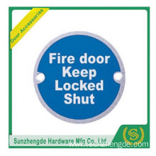 BTB SSP-011SS Fire Adhesive Safety Symbolic Toilet Door Signs