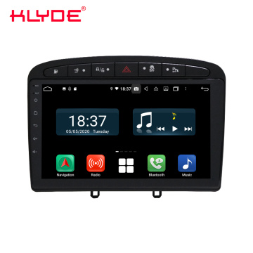 IPeugeot 308 Android 10 carplay stereo yemoto