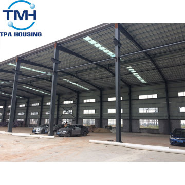 Prefab Steel Structure Construction Workshop metal Buildings