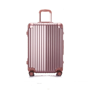Fashion Aluminum Frame Hard Shell Trolley Luggage