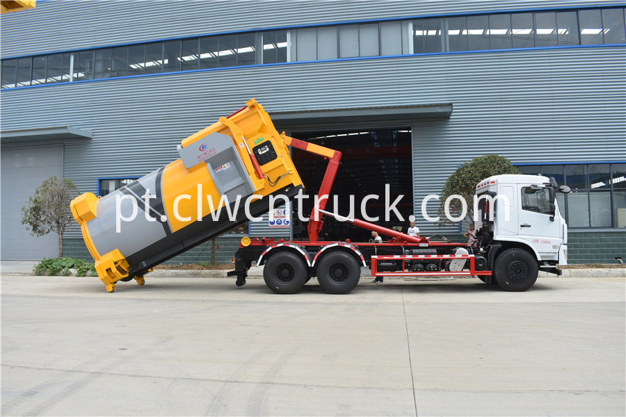 detachable compactor truck manufacturer