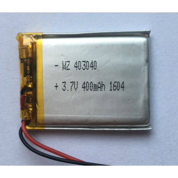 400mAh Li Polymer Battery For Wifi Speaker (LP3X4T4)