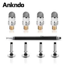 ANKNDO Stylus Pen Conductive Touch Sucker Tablet Pen Touch Cloth Head Laptop Pen Accessories Screen Pen Head Stylus Accessory