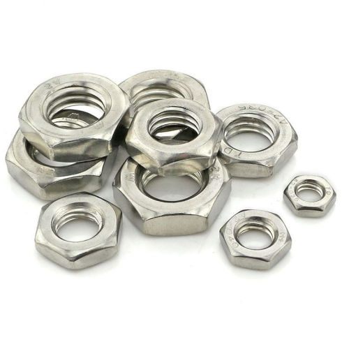 Stainless Steel Thin Hexagon Nuts