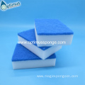 Floor cleaning melamine pad for machine