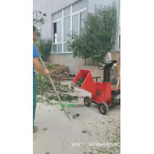 Weiwei wood chips logs branches waste chipper