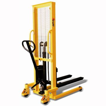 2Ton Hand Pallet Manual Stacker Hydraulic Manual Forklift