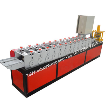 Twin Lath Roller Shutter Slat Roll Forming Machinery