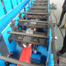 steel downspout forming line