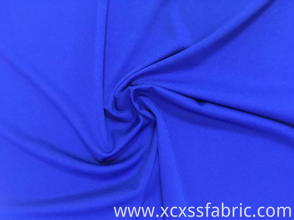 Polyester and Spandex Zurich knitting Fabric