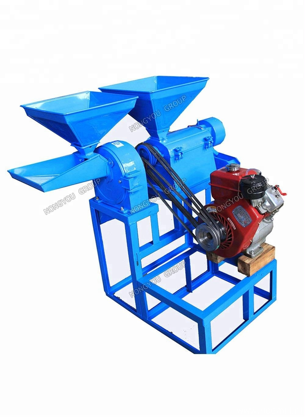 Diesel Auto Rice Mill Machine With Diesel Engine